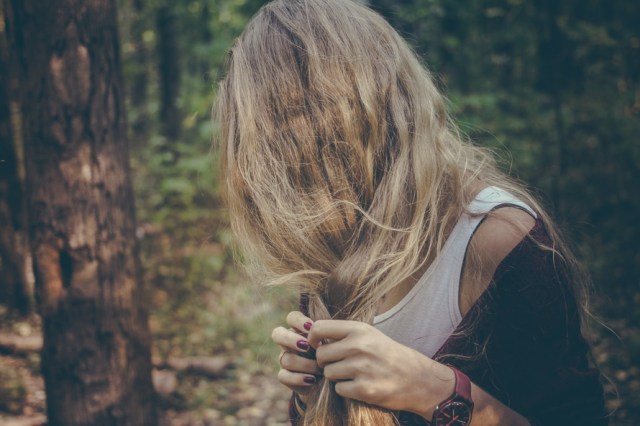 low self-esteem issues, hair, habits