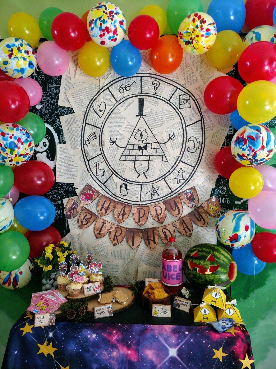 Birthday Gravity Falls Party