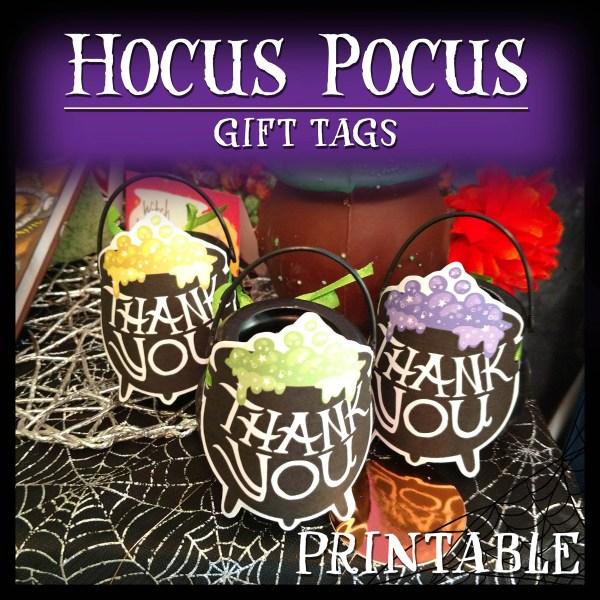Hocus Pocus Gift Tags