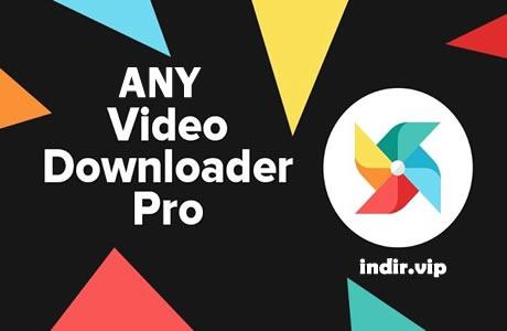 Any Video Downloader Pro İndir – v7.18.0