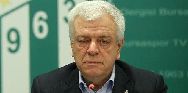 Bursaspor'un eski Başkanı Ali Ay'dan hakkındaki iddialara cevap!