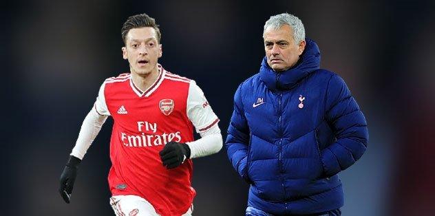 Mourinho'dan Mesut Özil'e flaş cevap!