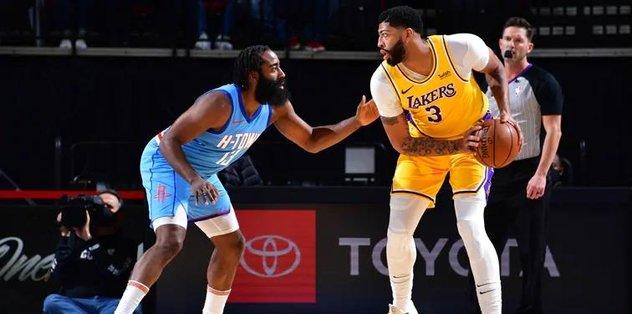 NBA'de Lakers tekrar tekrar üçüncü galibiyetini aldı