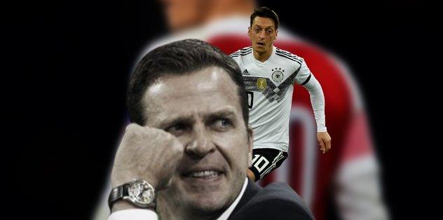 "Oliver Bierhoff'tan Mesut Özil açıklaması! ""Masaya oturursa…"""