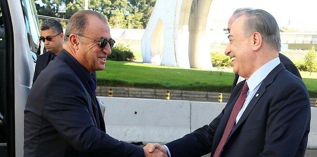 Son dakika: Galatasaray Başkanı Mustafa Cengiz'den Fatih Terim'e kontrat cevabı