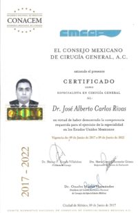 General Surgery Certification