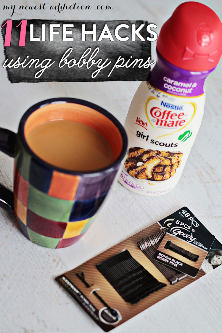 Coffee Mate and Bobbi Pins