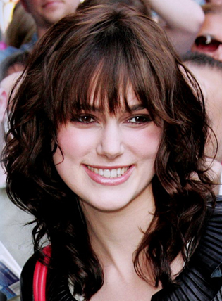 Keira Knightly My New Hair