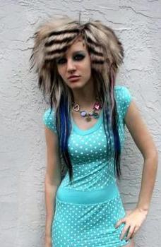 Kiki Kannibal Rad My New Hair