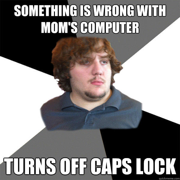 FTSG meme-something wrong mom computer
