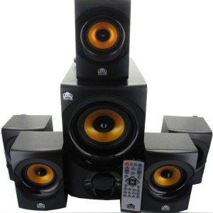 Acoustic Audio AA5170 Home Theater 5.1 Bluetooth Speaker System 700W with Powered Sub