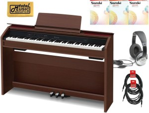Casio Privia PX-860 88-Key Digital Piano Standard Bundle - Walnut