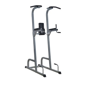 Soozier 83 Full Body Power Tower Home Fitness Station w Pull Up Bar and Dip Station