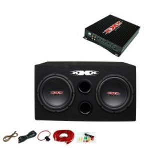 XXX Car Audio Pair 12 SubsCar Amp KitSub Box