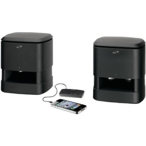 iLive Wireless IndoorOutdoor Speaker System, Black (ISA33B)