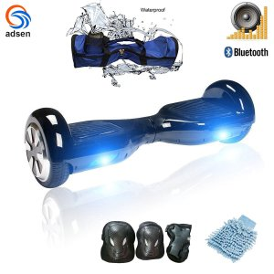 ADSEN(TM)Two Wheels Self Balance Drifting Electric Scooter and Smart scooter hoverboard segway,Free 8 PCS gifts 6.5-Inch