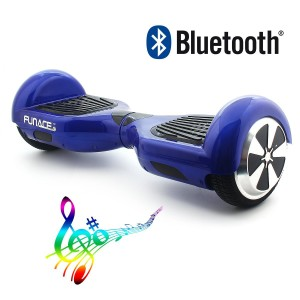 FunAce Self Balancing Scooter Two Wheel Bluetooth + LED Lights (6.5 Wheels) Smart Electric Self Balancing Scooters Personal Adult Transporter Drifting Board H