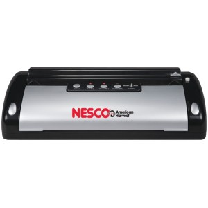 Nesco VS-02 Food Vacuum Sealer, BlackSilver