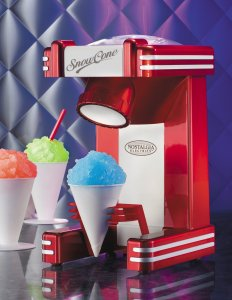 Nostalgia Electrics RSM702 Retro Series Single Snow Cone Maker