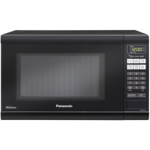 Panasonic NN-SN651BAZ Black 1.2 Cu. Ft Countertop Microwave Oven with Inverter Technology