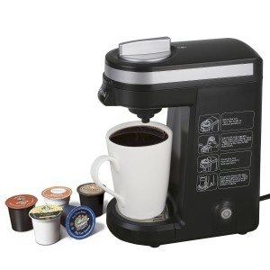 Aicok K-cup Coffeemaker Compact Single Serve Coffee Brewer