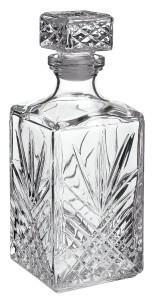 Bormioli Rocco Selecta 33-34-Ounce Decanter with Stopper