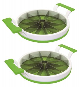 Perfect Slicer - A Melon Slicer for Cutting Large Fruit, Vegetables and More, 2 Pack