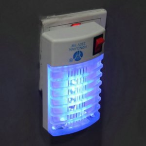 BatterElec(TM) LED Socket Electric Mosquito Fly Bug Insect Trap Night Lamp Killer Zapper