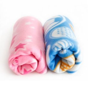 Colorfulhouse® Cozy Plush Pet Blanket for Small to Medium Dogs & Cats 35 x 28