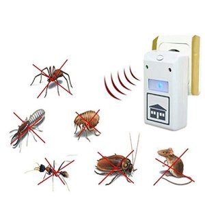 EU Plug Pest Repeller Control Aid Killer Ant Mosquito Repelling Plus Electronic 220V110V (Color White)