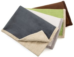 West Paw Design Big Sky Faux Suede Dog Blanket