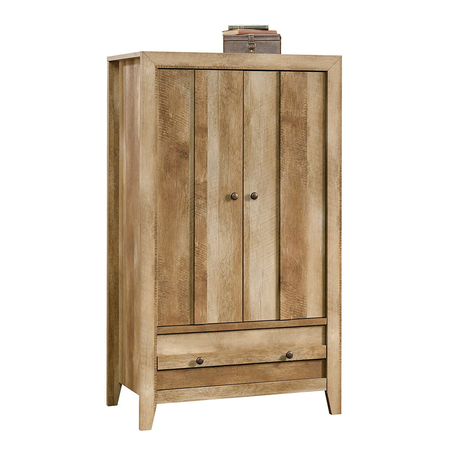 Sauder Dakota Pass Armoire In Artisan Oak