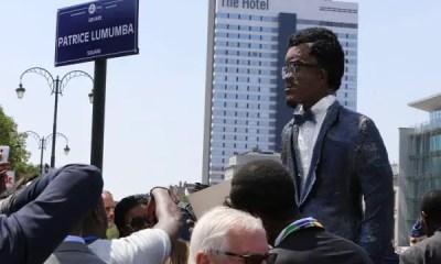 Patrice Lumumba statue Belgium