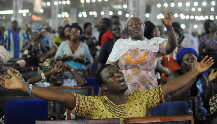 File Image of people praying