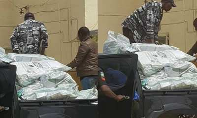 Nigeria police intercept thumb printed ballot papers