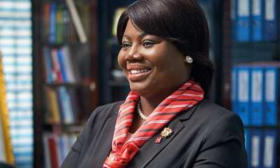 Ghana's Director General of the Criminal Investigations Department (CID), Maame Yaa Tiwaa Addo-Danquah (Mrs)