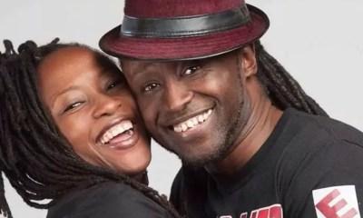 Reggie Rockstone and Wife
