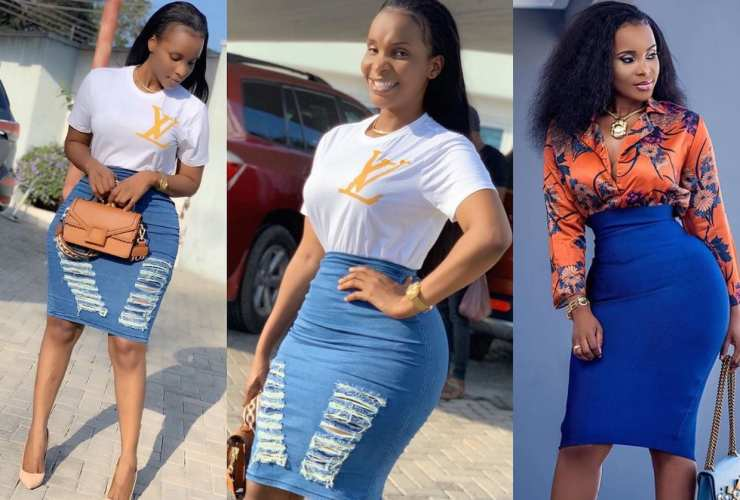 I've not done surgery on my buttocks - Benedicta Gafah