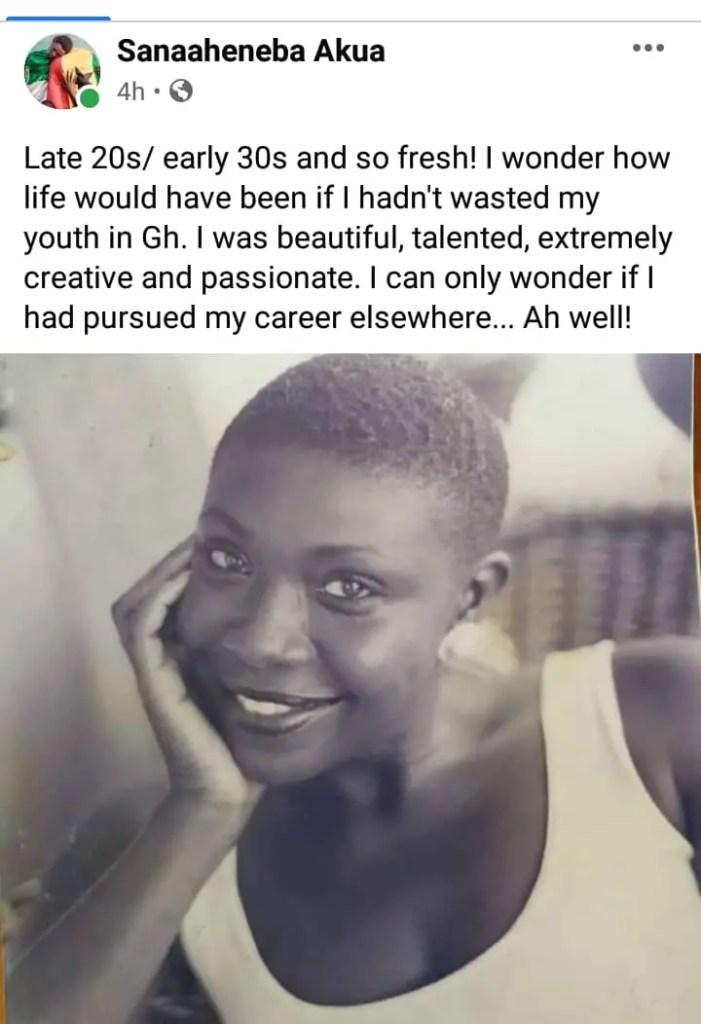 Spending My Youthful Years In Ghana Was A Waste - Akua Djanie-Manfoe. 4