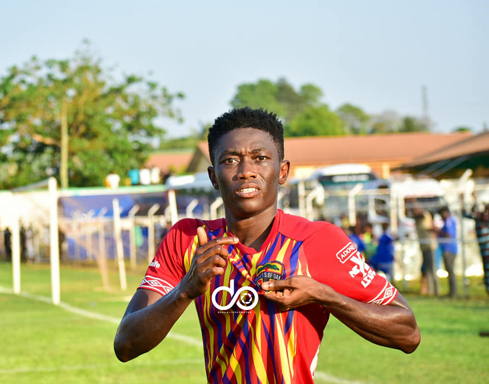 GPL: Manaf Umar scores late to secure win for Hearts of Oak over King Faisal