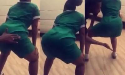 Twerking-nurse