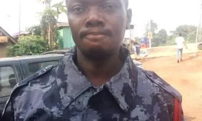 dead policeman