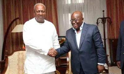 Akufo-Addo and Mahama