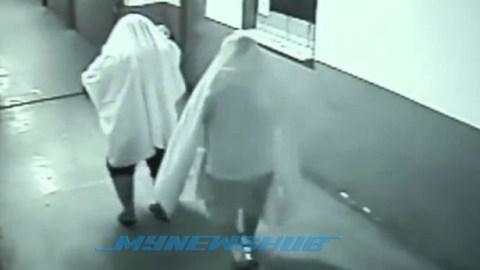 CCTV Rakam 'Hantu' Curi Printer Dan Komputer