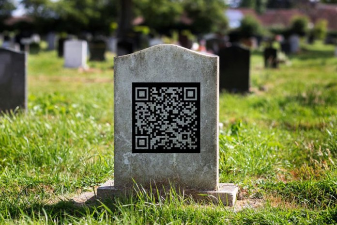 Remember Your Loved Ones With A Gravestone QR Code