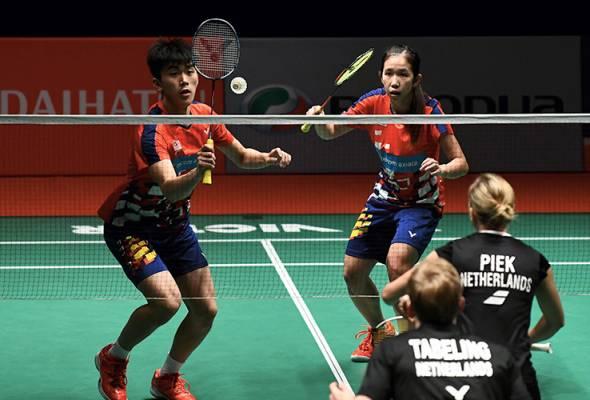 Badminton Piala Sudirman: Malaysia Mara Ke Separuh Akhir