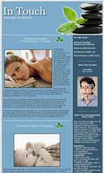 My Newsletter Builder Examples For Massage Email Marketing