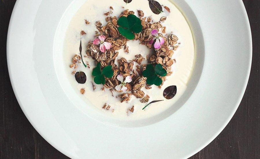 Nordic Granola | Caramelized Grains & Soured Milk