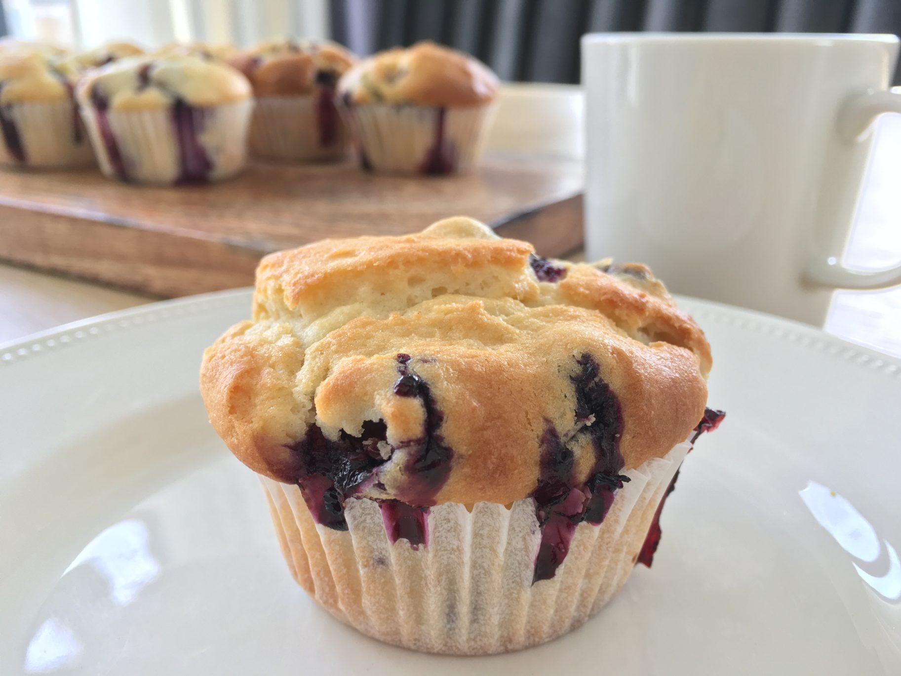 Blueberry Muffin – A Muffin With My Coffee