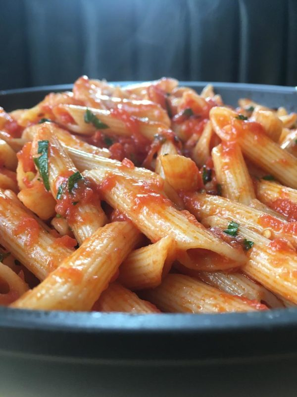 Penne Arrabbiata – Angry Delicious